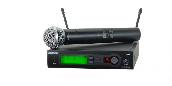 Shure Microphone Handheld Wireless Microphone SLX24/SM58