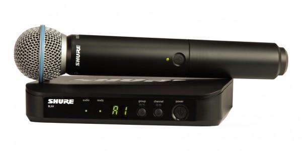 Shure Handheld Wireless Microphone BLX24/BETA58