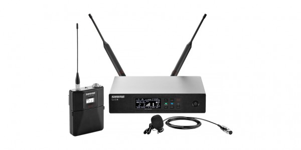 Shure  Lavalier Wireless Microphone System - QLXD14/WL185