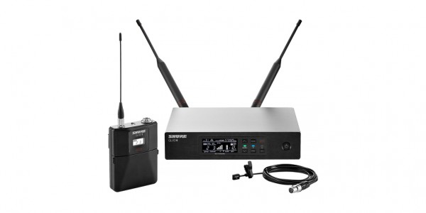 Shure Lavalier Wireless Microphone System Microphone QLXD14/WL93