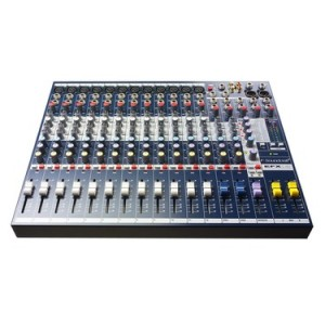 SOUNDCRAFT AUDIO MIXER EFX 12