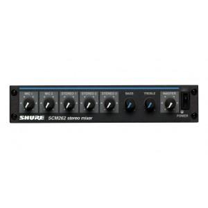 Shure Stereo Mixer SCM262