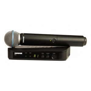 Shure Handheld Wireless Microphone BLX24/BETA58