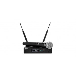 SHURE HANDHELD WIRELESS MICROPHONE QLXD24 SM 58