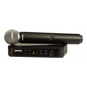 ShureHandheld Wireless Microphone Transmitter Microphone -BLX24/SM58