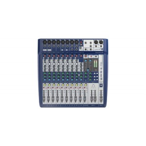 SOUNDCRAFT AUDIO MIXER SIGNATURE 12