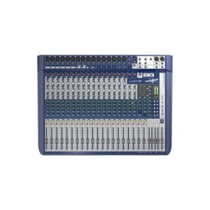 SOUNDCRAFT AUDIO MIXER SIGNATURE 22