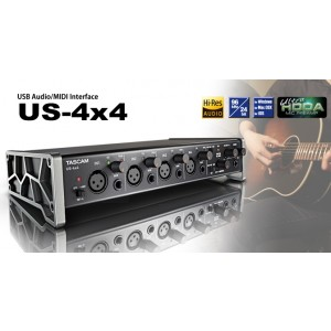 TASCAM AUDIO INTERFACE US4*4