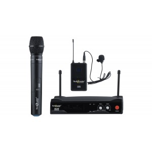 STUDIOMASTER DUAL UHF WIRELESS MICROPHONE XR 40 HL