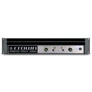 CROWN POWER AMPLIFIER I TECH 5000HD