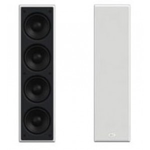 KEF Wall Theater Subwoofer Speaker Ci4100QLB