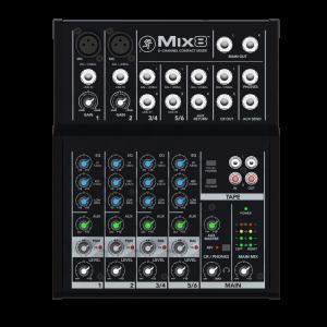 MACKIE COMPACT MIXER MIX 8