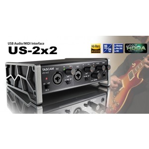 TASCAM AUDIO INTERFACE US 2*2