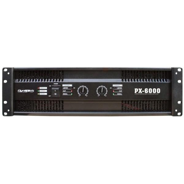 dynatec power amplifer PX 6000 - Pro Audio